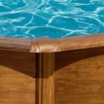 Bazén Pacific - detail vrchní lišty